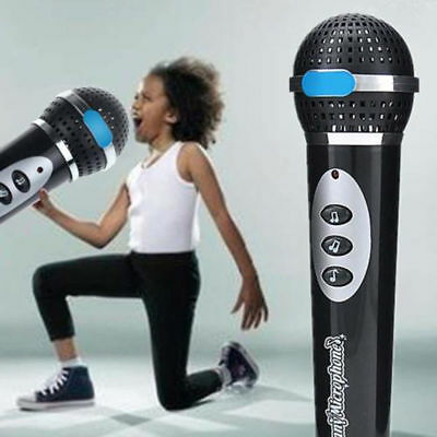 Child Girls Boy Microphone Mic Karaoke Singing Kid Playing Party Music Toy - Microphone Toy