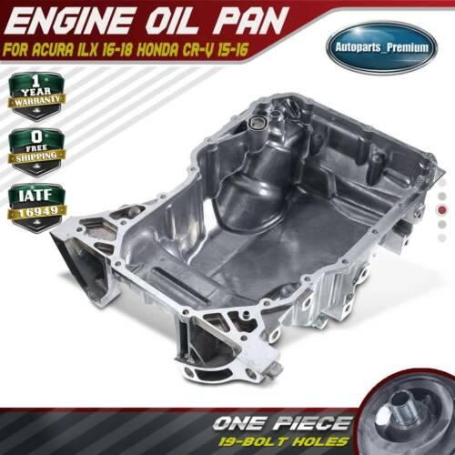 Engine Oil Pan For Acura ILX 16-18 Honda CR-V 15-16 L4 2