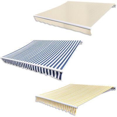 vidaXL Gelenkarmmarkise Markise Markisenstoff Sonnenschutz mehrere Auswahl