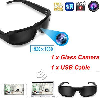 Mini HD Spy Camera Glasses 1080P 720P Hidden Eyeglass Sunglasses Cam Eyewear (Sunglasses Hidden Camera)