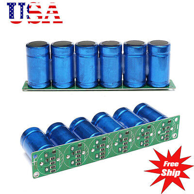 Us Farad Capacitor 2.7v 500f 6 Pcs1 Set Super Capacitance With Protection Board