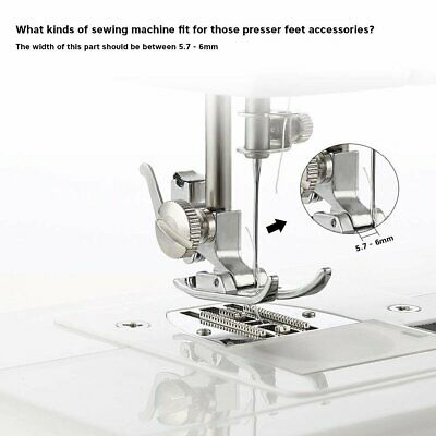 Industrial Walking Foot Sewing Machine Presser Foot Set Tool Kit Multifunction for sale  Shipping to Canada