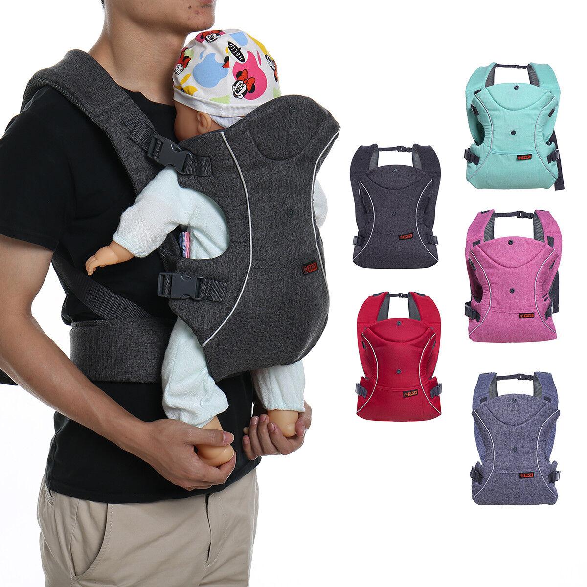 3 In 1 Ergonomic Infant Baby Carrier Sling Breathable Adjust
