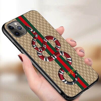 Snake iphone 11 pro max 8 7 plus 11 xs max case samsung note S20 10+Gucci9cases