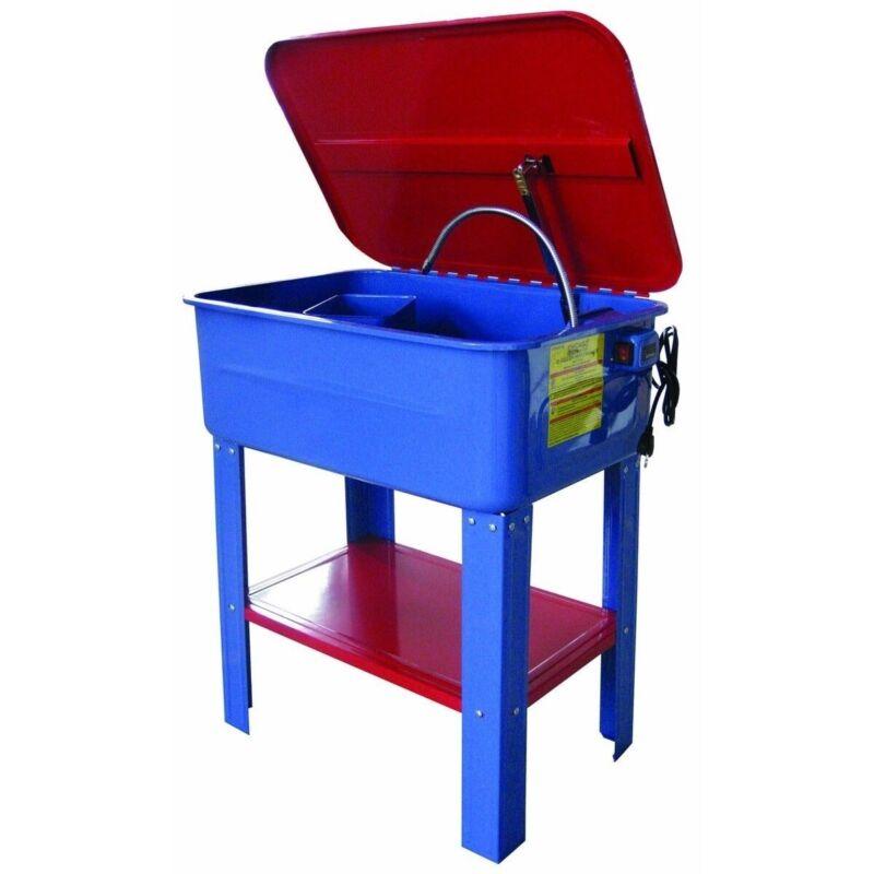 20 Gallon 20G Automotive Parts Washer w/General Purpose Solvent Pump 4Shop Clean