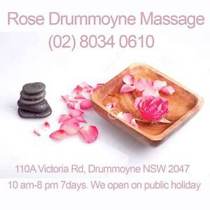 Rose Dummoyne Massage - Pain Relief Massage Drummoyne Canada Bay Area Preview
