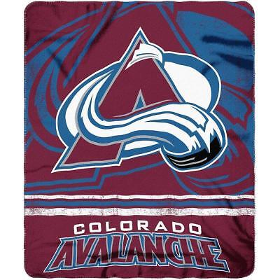 Hockey Colorado Avalanche Fleece Throw Blanket 50
