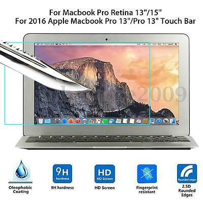 Tempered Glass Screen Protector For Macbook Pro Retina 13''/15''/ 2016 Pro 13''