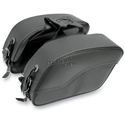 All American Rider Plain Extra Large Futura 2000 Slant Saddlebags   8800P