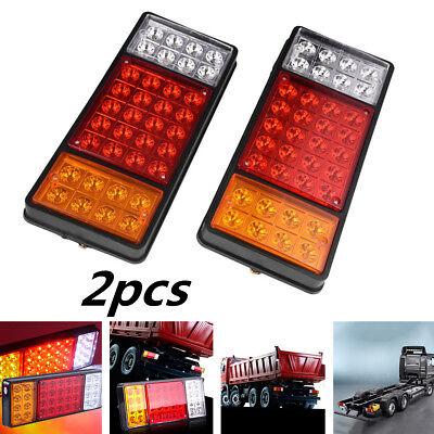 2pcs DC 12V 36 LED Tail Lights Ute Trailer Caravan Car Truck Boat Stop Indicator