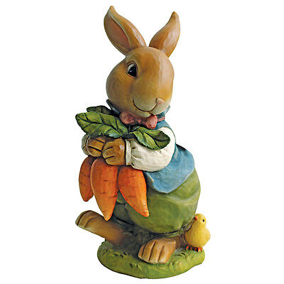 Bunny Rabbit Statue Garden Statuary Figurines Easter Decor Lawn Yard Ornament - Easter Lawn Decorations