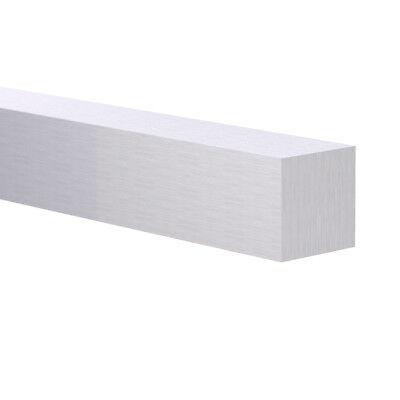38 X 38 6063 Square Aluminum Flat Bar 4 Foot Mill Finish