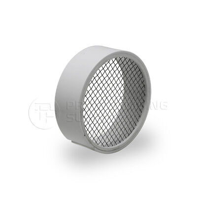 Raven R1508 PVC Termination Vent,304 Stainless Screen with Condensation Drain,4""