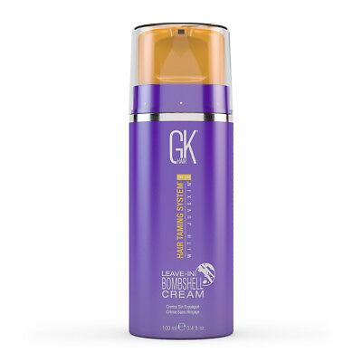 (Global Keratin GKhair Leave in Bombshell Blonde Hair Toning Cream 3.4oz)