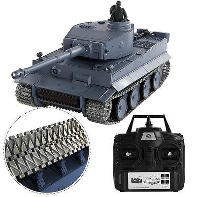 1:16 2.4G RC German Tiger l Tank Remote Control Smoke & Sound Upgrade Version