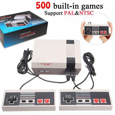 Nes Mini Video Console Entertainment Nintendo 500 Tv Games Ship From Us Kk