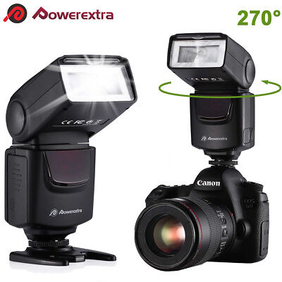 Slave Camera Flash Speedlite Light Wireless For Nikon Canon Sony Pentax DSLR Cam