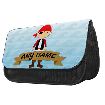 Personalised Swashbuckling Pirates Pencil Case Kids School College Gift idea  - Pirate Makeup Ideas
