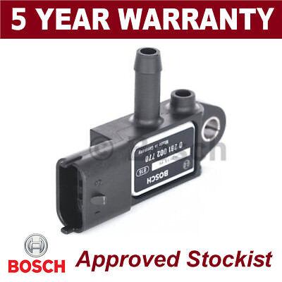 Bosch DPF Exhaust Pressure Sensor Diesel Particulate Filter MAP 0281002770