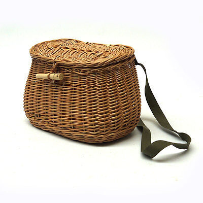 Hand Made Wicker Fishing Creel No Chemicals