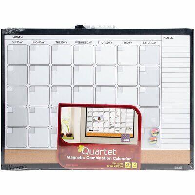 Quartet Dry Erase Board Cork Board Calendar Board Magnetic 17 X 23 With List