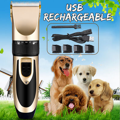 Para sa Cat Dog Pet Animal Hair Grooming Electric Trimmer Clippers Professional Kit