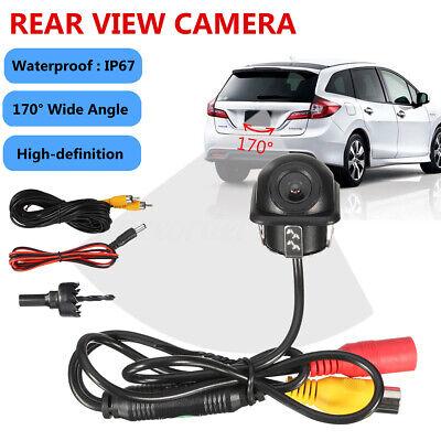 12V 170° HD Car Reversing Rear View CCD Camera Backup Parking Night Vision UK