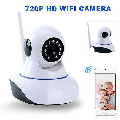 Wireless Pan Tilt HD 720P Security IP Camera Night Vision Surveillance Webcam US