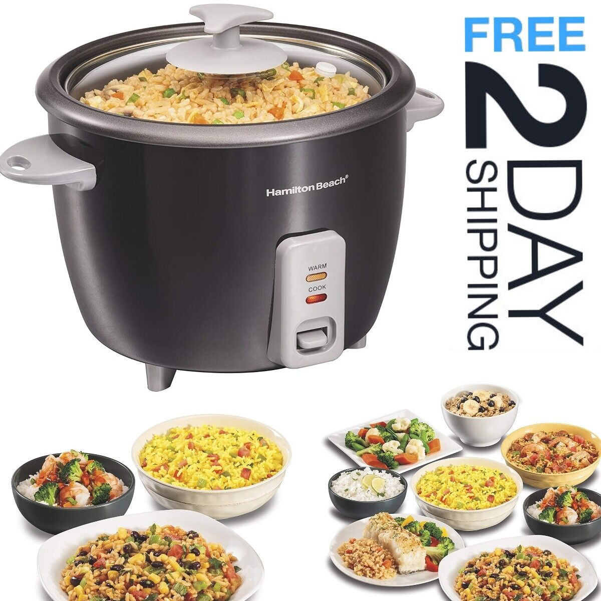 rice cooker steamer fast cooking 16 cup