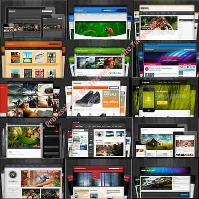 600 Wordpress Premium Themeswebsites - Dvd Disk 3 Bonuses With Resell Rights