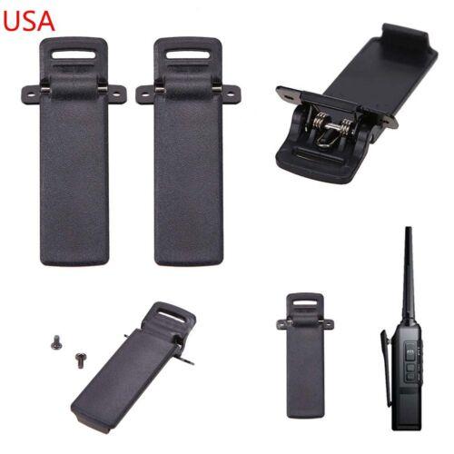 2 x Belt Clip Fit For UV-5R UV-5RA UV-5RB UV-5RC UV-5RD UV-5RE US SELLER