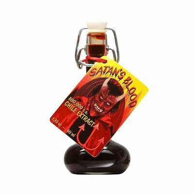 Satan's Blood Pepper Extract. 1.35 oz. Scorching hot!!! 800k Scovilles