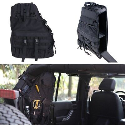 Wrangler Bag - Roll Bar Storage Cargo Bag Cage Trunk Accessories For Jeep Wrangler 4-Door 07-18