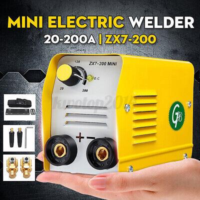 Zx7-200 220v 200a Mini Electric Welding Machine Dc Igbt Inverter Arc Mma Stick