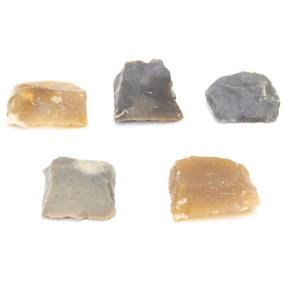 Original 18th Century Brown Bess Musket Flints- Set of Five (5)