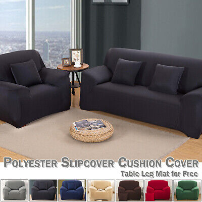 Soft Sofa Covers 1/2/3/4 Seater Fabric 90-310cm Elastic Stretch Couch Slipcover