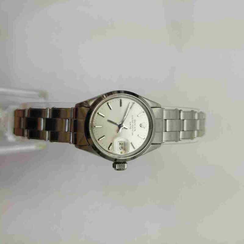 Rolex Watch Oysterperpetual date 6516 24mm Automatic  Women's   Silver 1501933