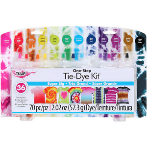 big one step tie dye kit enough for 36 projects tulip