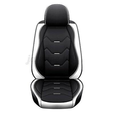 Universal Auto Sitzbezug Schonbezug Sitzauflage Einzel Kunstleder Weiß Schwarz
