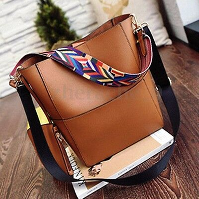 Bag - Women Leather Handbag Shoulder Crossbody Ladies Messenger Tote Bag Satchel Purse