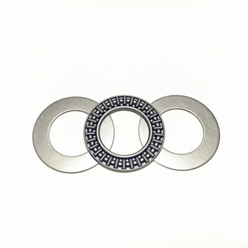 10pcs AXK1226 12x26x2 mm Thrust Needle Roller Bearing with 2AS Washers Each