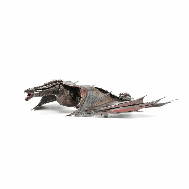 Fascinations ICONX Drogon Laser Cut 3D Metal Model Kit