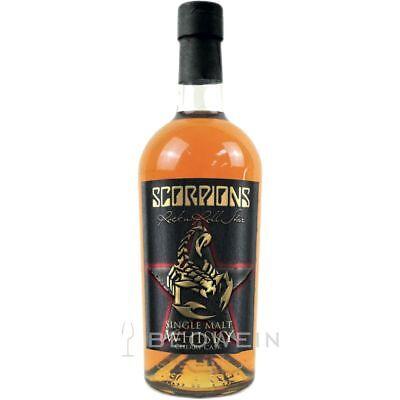 Scorpions Single Malt Whisky Cherry Cask 0,7 l Kirschwein und Sherry Fass Finish