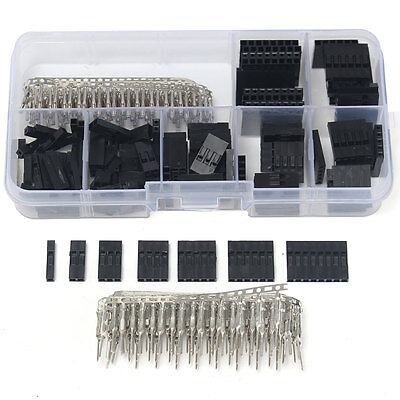 310Pcs 2.54mm Male Female Dupont Wire Jumper w/ Header Connector Housing Arduino