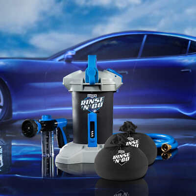 Dry Wash System - Unger Professional Rinse'n'Go Spotless Car Wash System, No Need to Hand Dry!