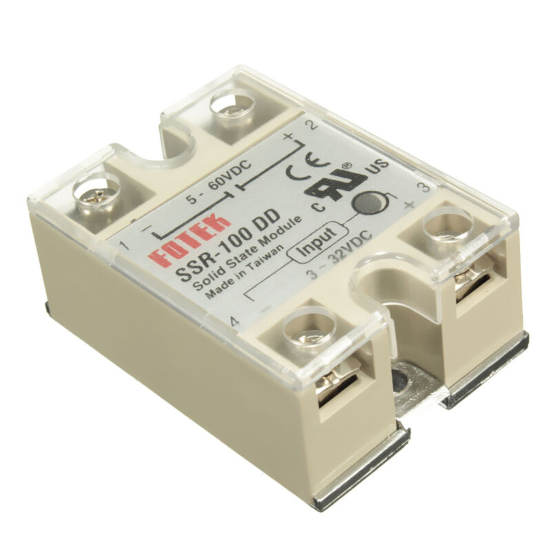 SSR-100 DD Solid State Module Solid-state Relay DC-DC 100A 3-32V DC/5-60V DC