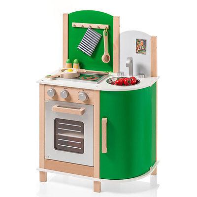 Sun 4132 Kinderküche / Spielküche aus Holz grün