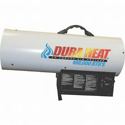 Duraheat 70k-125k Btu Propane[lp] Forced Air Heater - Gas, Electric - Propane -