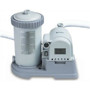 Intex 2500 gph above ground swimming pool pump filter ebay for Best above ground pool pump