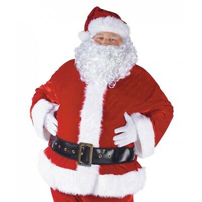 Santa Belly Stuffer Adult Fat Suit Costume Padding Christmas Fancy Dress